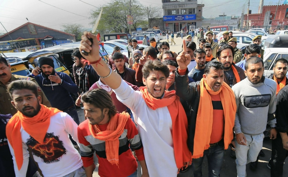 The moral policing brigade in India struck Valentine's Day as fringe groups in several parts of the country like Jammu, Ahmedabad, and Kolkata, reportedly took to the streets in a bid to intimidate couples and protest the celebrations in view of the event. PTI