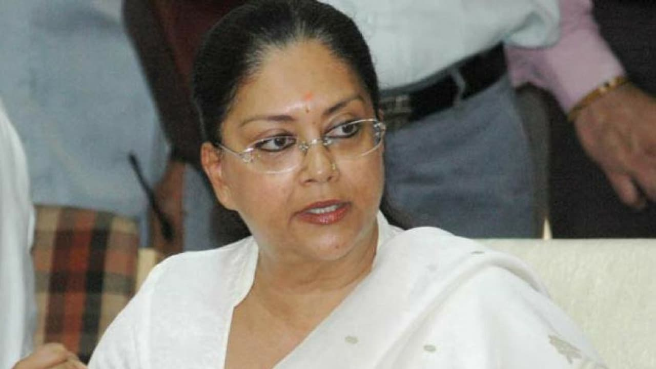 Rajasthan Assembly Election 2018: Vasundhara Raje files nomination papers from Jhalrapatan constituency - Firstpost