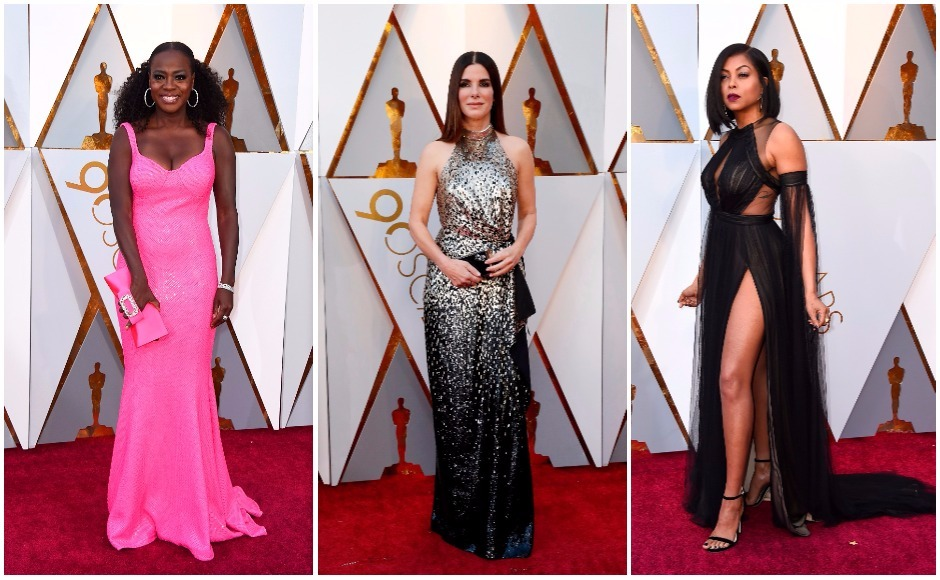 Oscars 2018: All the best red carpet looks from Hollywood's big night