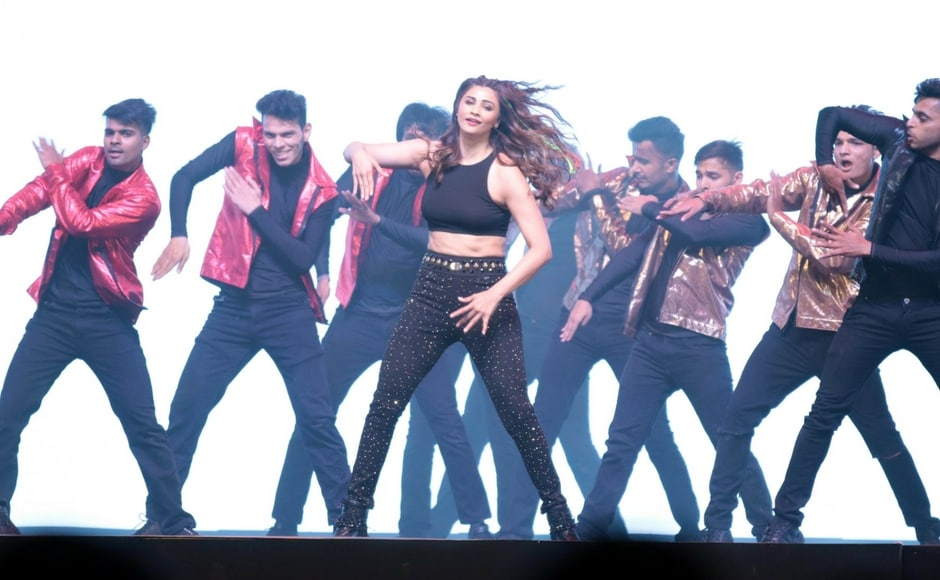Daisy Shah performs onstage. Firstpost/Sachin Gokhale