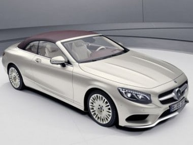 Mercedes-Benz S-Class Coupe Exclusive Edition. AFPRelaxnews