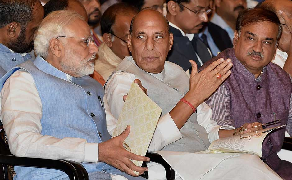Vice-President M Venkaiah Naidu, Prime Minister Narendra Modi, Union Home Minister Rajnath Singh and several other dignitaries attended the function at the Rashtrapati Bhavan. Keeping its promise of honouring