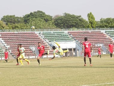 Image from the Kerala vs Chandigarh match in the Santosh Trophy. Agencies