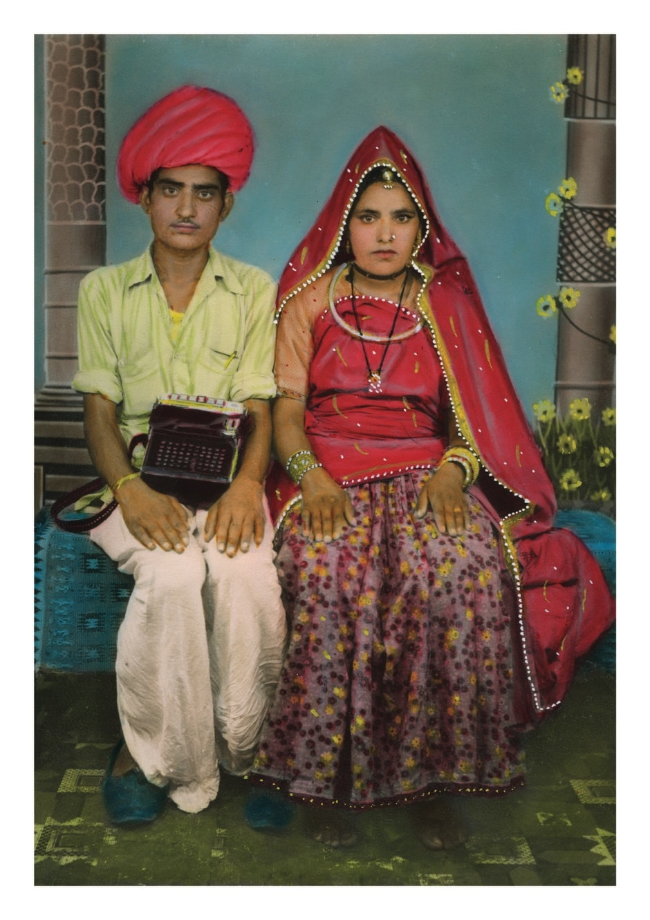 Prebois is a French artist, connoisseur and dealer of Indian vernacular photography.