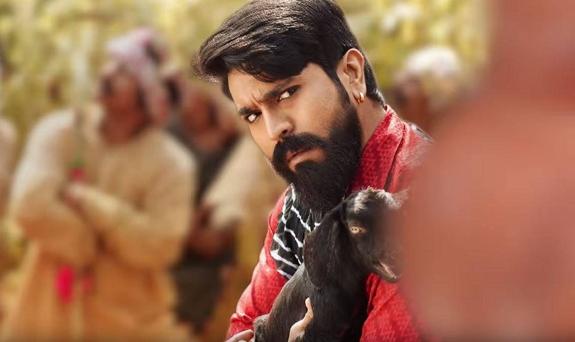 Ram Charan in a still from Rangasthalam. YouTube