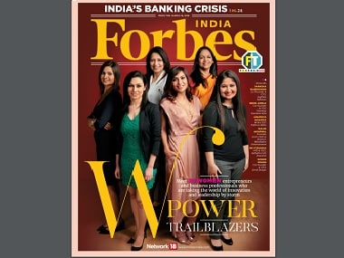 Forbes W-Power Trailblazers 2018 issue. Source: Forbes India