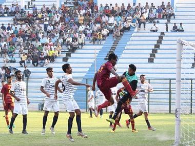 Action from Santosh Trophyt match Bengal vs Maharashtra. Image Courtesy: Agencies