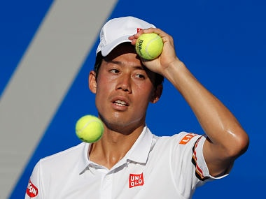 File image of Japan's Kei Nishikori. AP