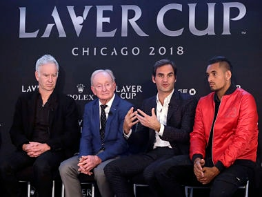 Laver Cup 2018: Roger Federer hopes tournament is popular in USA, open to including female players in future