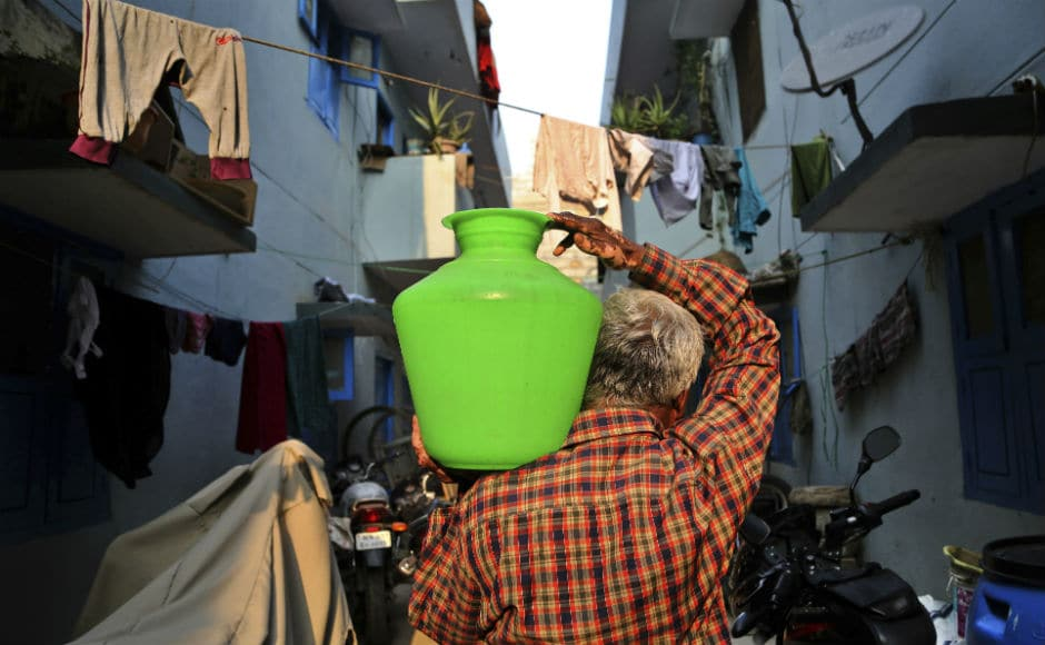 Today, there are over 663 million people living without a safe water supply close to home, spending countless hours queuing or trekking to distant sources, and coping with the health impacts of using contaminated water. AP