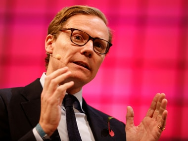 Ex-CEO of Cambridge Analytica, Alexander Nix. Reuters