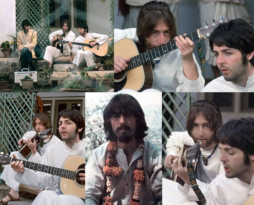 The Beatles would go on to write about 40 songs during their stay in India. Facebook/@AntonioCerdaArdura