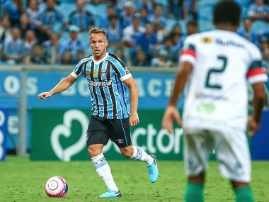 File image of Gremio's Arthur. Credit: Barcelona