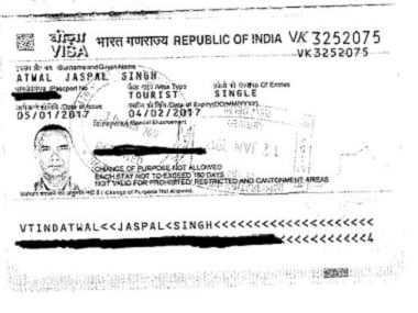 Atwal has been granted Indian visas in the past