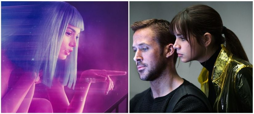 Blade Runner 2049 takes a look at the relationship between a bioengineered android (Ryan Gosling) and his holographic AI companion (Ana de Armas).