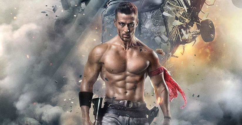 Tiger Shroff in a publicity still for Baaghi 2