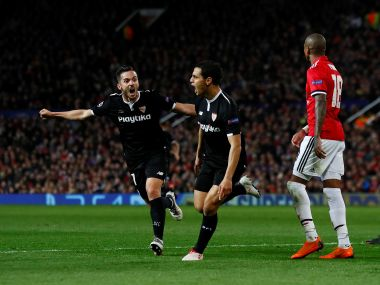 Ben yedder scored twice to put Sevilla in the driver's seat at Old Trafford. Reuters