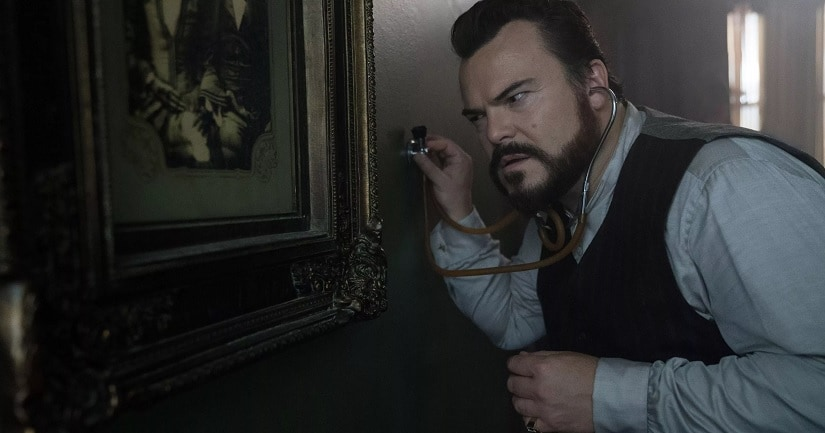 Jack Black in a still from The House with a Clock in its Walls