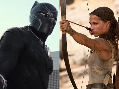 Black Panther fends off Tomb Raider to become first movie to top box office for five straight weekends since Avatar