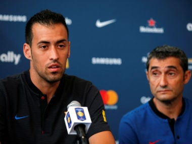 File image of Sergio Busquets. Reuters