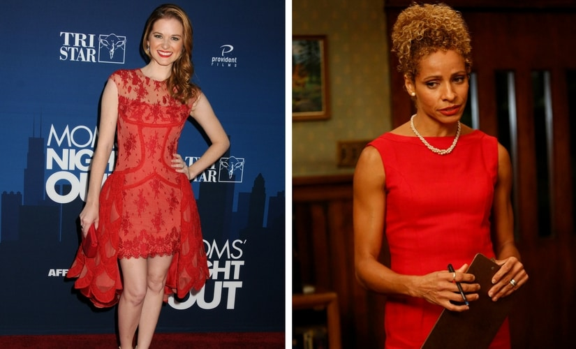 Sarah Drew and Michelle Hurd/Image from Twitter.