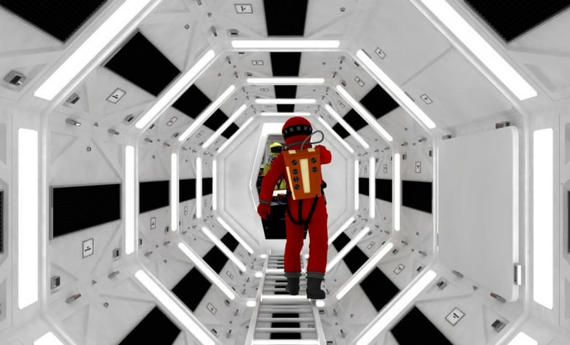 A still from 2001: A Space Odyssey/Image from Twitter.
