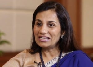 A file photo of ICICI Bank CEO Chanda Kochhar.