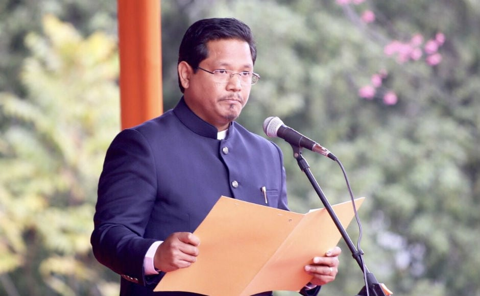 Besides Sangma, four MLAs from NPP, three from UDP, two from PDF and one each from BJP and HSPDP were inducted into the Cabinet. After the swearing-in, Sangma said that the new government will work to take the state forward.