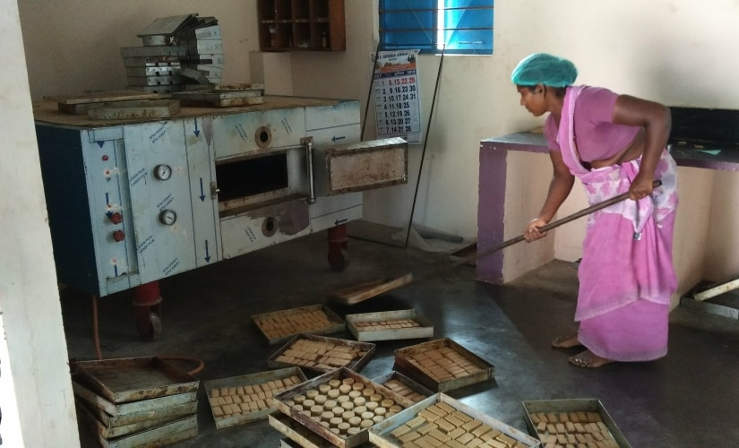 The Amudha Sirudhanya Mathipu Kootu Thozhil Kuzhu which sources millets from local farmers and manufactures and sells millet-based snacks. Karthikeya