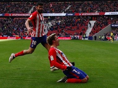 La Liga: Diego Costa says it's best for teammate Antoine Griezmann to stay at Atletico Madrid next season