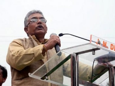 File image of West Bengal BJP president Dilip Ghosh. News18