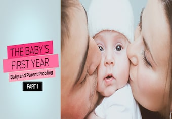 9 Months Episode 3 Part 1 | The baby's first year: Baby and parent proofing