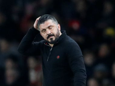 Europa League: Gennaro Gattuso says AC Milan have only themselves to blame for early exit from competition