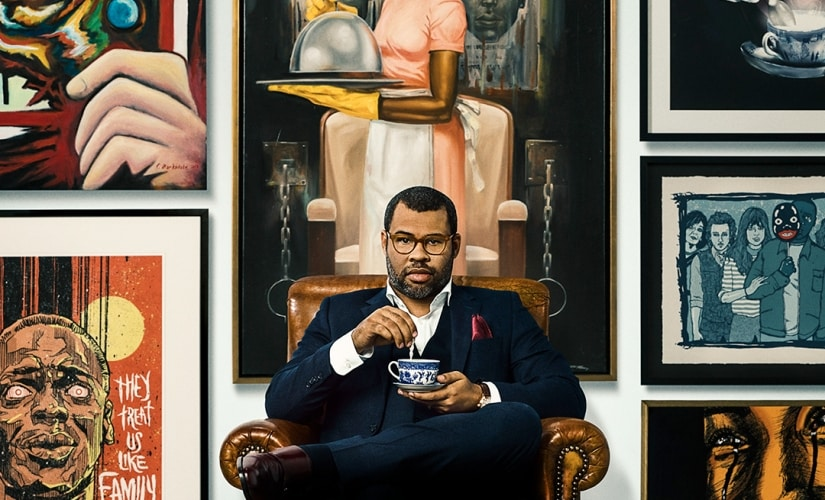 Get Out's director and writer Jordan Peele. Twitter @GetOutMovie