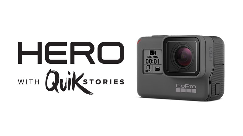 GoPro Announces a New $199 Hero Camera