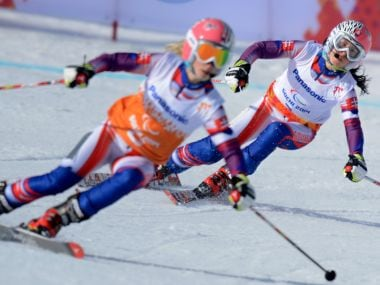 Winter Paralympics 2018's first gold medal claimed by visually impaired downhill skiier Henrieta Farkasova
