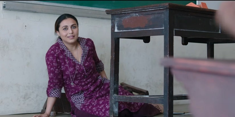 Still from the Hichki song 'Madamji Go Easy'. YouTube screengrab