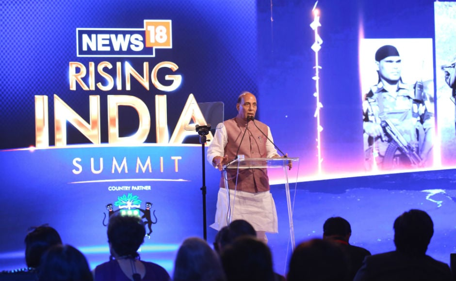 On the second day of News18's Rising India Summit in New Delhi, Union homeminister Rajnath Singh Singh stressed on the need for a collective effort in 'rising India'. News18