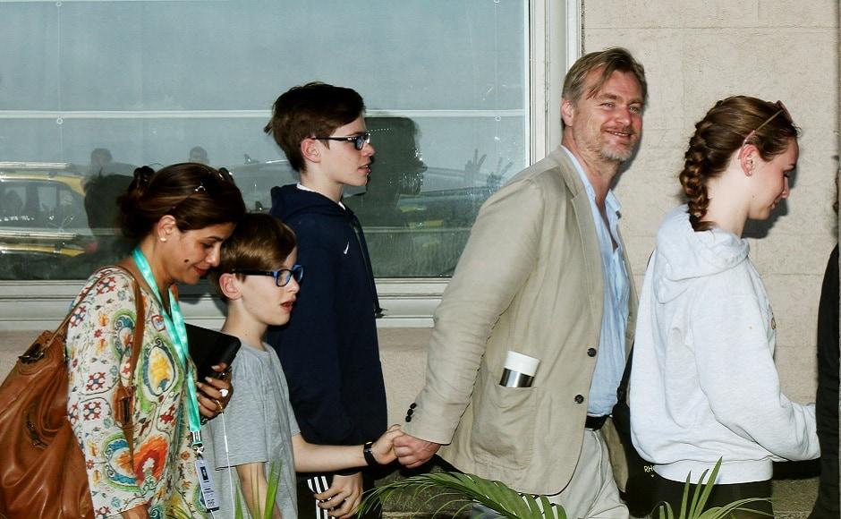 On his visit to India, Nolan said,