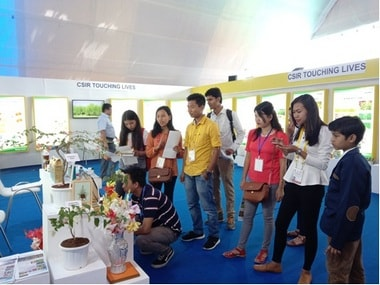 Pride of India Expo organised as part of the India Science Congress saw a huge turnout