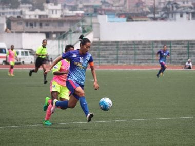 KRYHPSA cruised to a comfortable win against Sethu FC in the Indian Women's League. Image Courtesy: AIFF