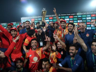 Islamabad United lifted the PSL trophy for the second time, having earlier won the inaugural edition. AFP
