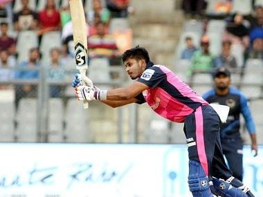 Shreyas Iyer smashed a brilliant fifty in the game against North Mumbai Panthers. Image Courtesy: T20 Mumbai League