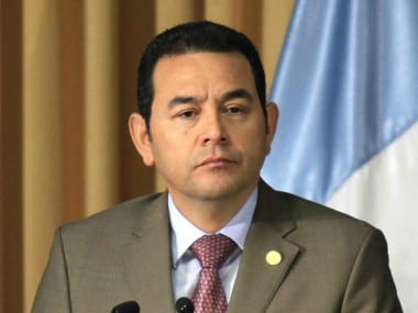 Guatemala president Jimmy Morales follows Donald Trump's lead, set to move embassy in Israel to Jerusalem in May