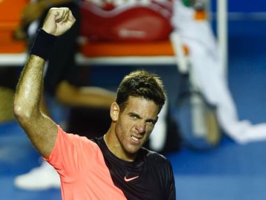 Mexican Open: Juan Martin del Potro sets up title clash against Kevin Anderson; reigning champ Lesia Tsurenko into final