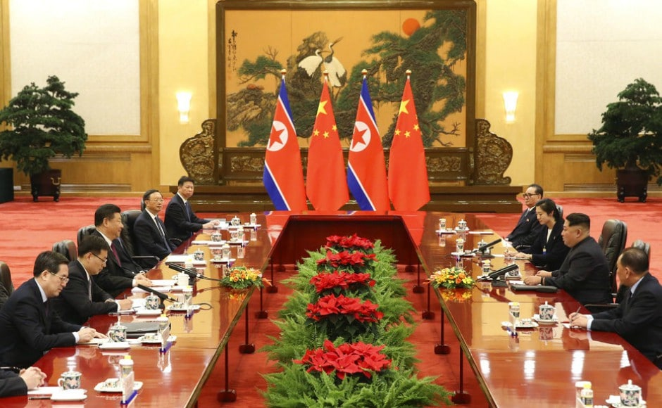 The secretive visit was confirmed by Chinese and North Korean State media, which said Kim was treated to a lavish stay in a show of unity after relations were battered by Beijing's support of United Nations sanctions against Pyongyang. AP