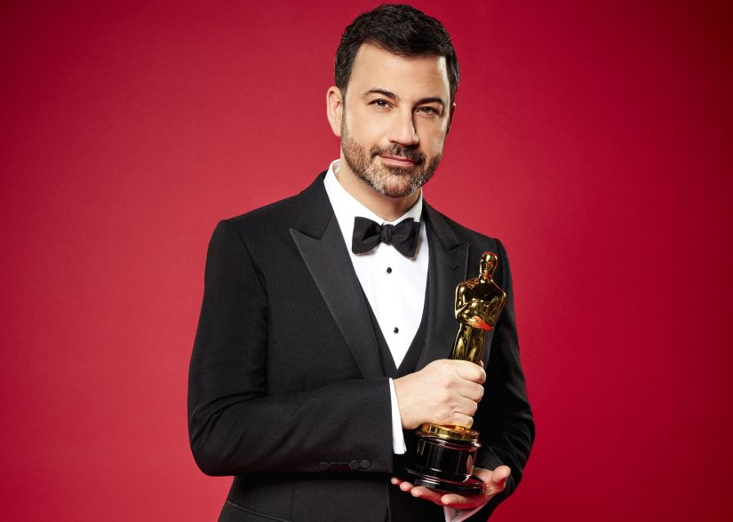 Jimmy Kimmel will be hosting the Oscars for the second consecutive time. AMPAS