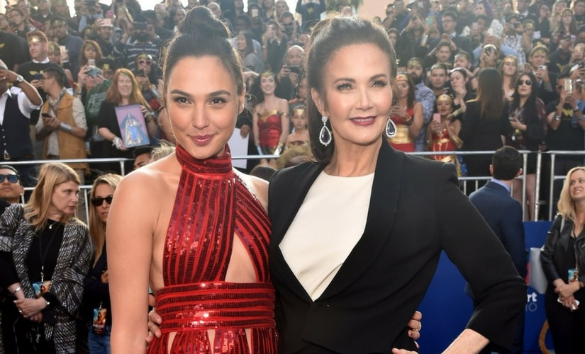 Lynda Carter with Gal Gadot/Image from Twitter.