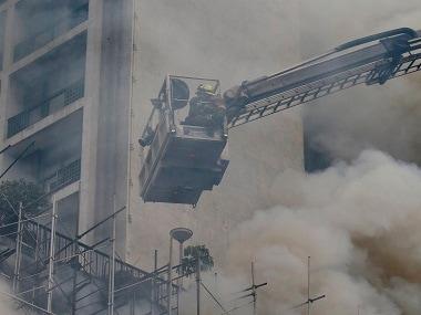 Taiwan fire: Seven dead, including five firefighters, in electronics factory blaze in Taoyuan City