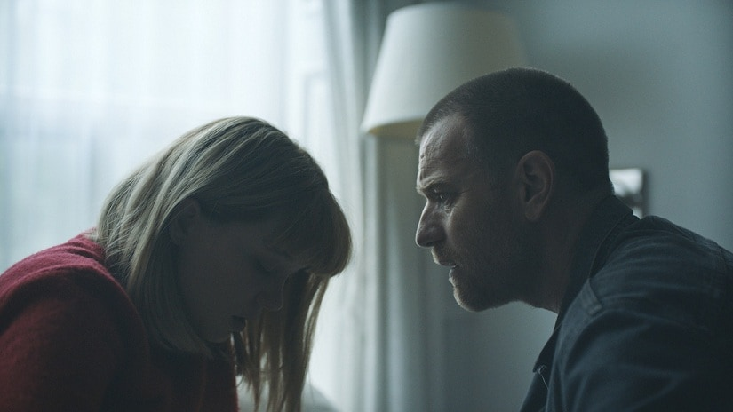 Lea Seydoux and Ewan McGregor in Zoe. Image via Twitter